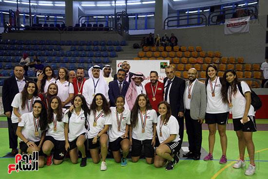 مصر تتوج بلقب البطولة العربية لسيدات السلة (5)