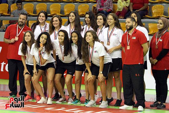 مصر تتوج بلقب البطولة العربية لسيدات السلة (6)