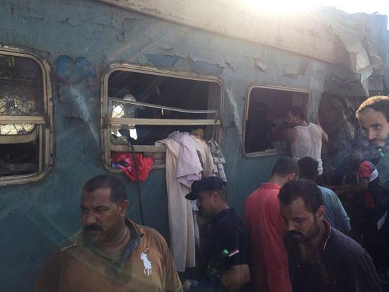حادث قطار اسكندرية (2)