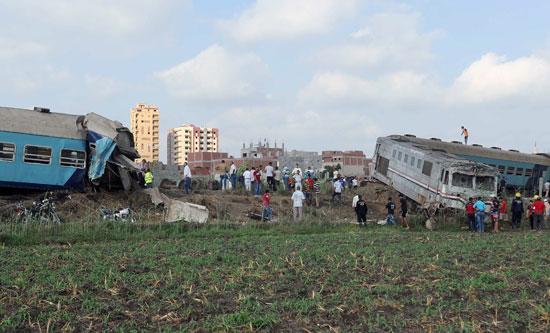 حادث قطار اسكندرية (7)