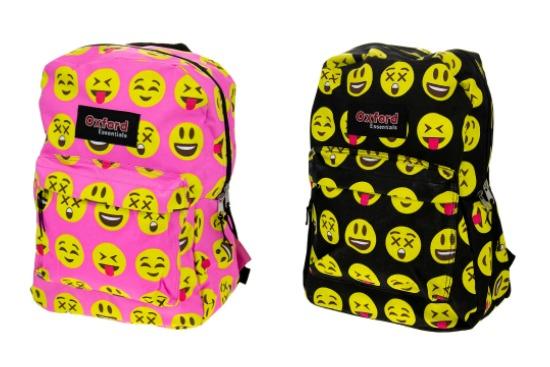 حقيبة تناسب المدرسة أو الجامعة بإيموشنز