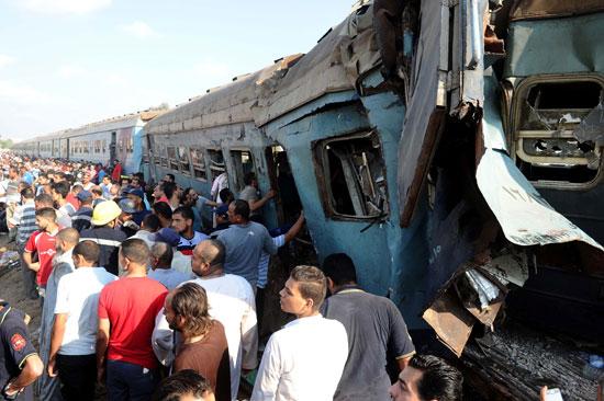 حادث قطار اسكندرية (9)
