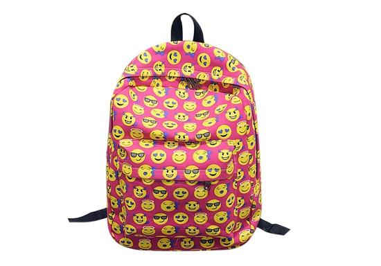 حقيبة للبنات مزينة بالإيموشنز