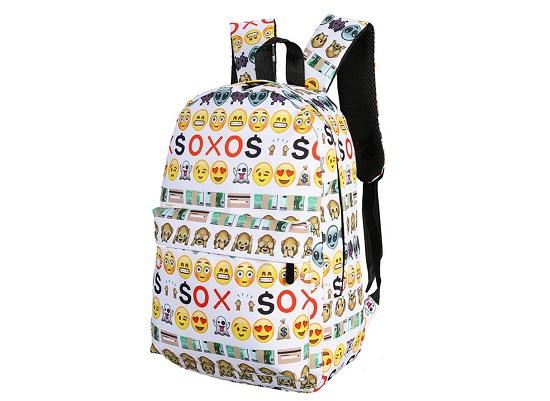 حقيبة مدرسة مزينة بالإيموشنز الأكثر شعبية