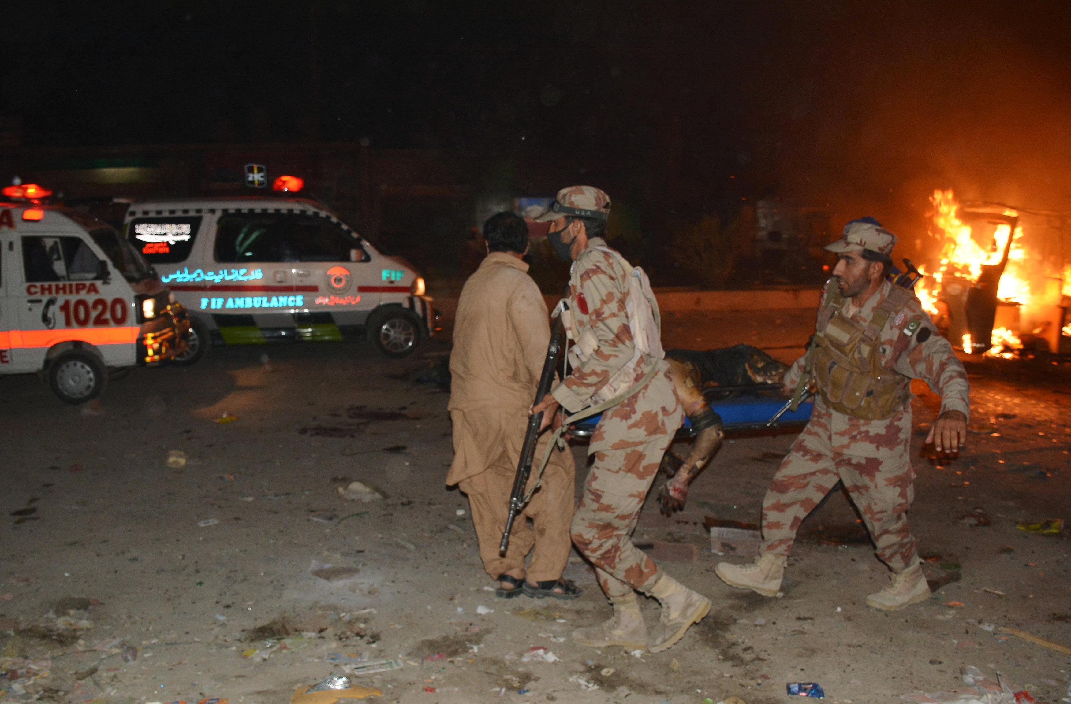 انفجار باكستان