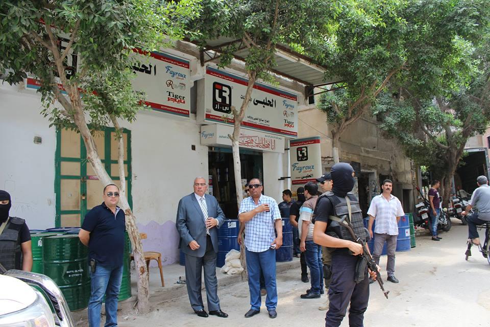 ضبط مروجى مخدرات فى حملة امنية مكبرة بدمياط (2)
