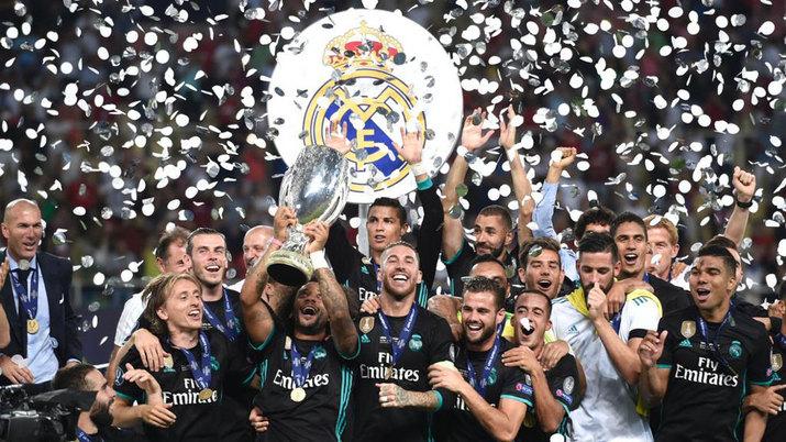 ريال مدريد بطل السوبر الأوروبى