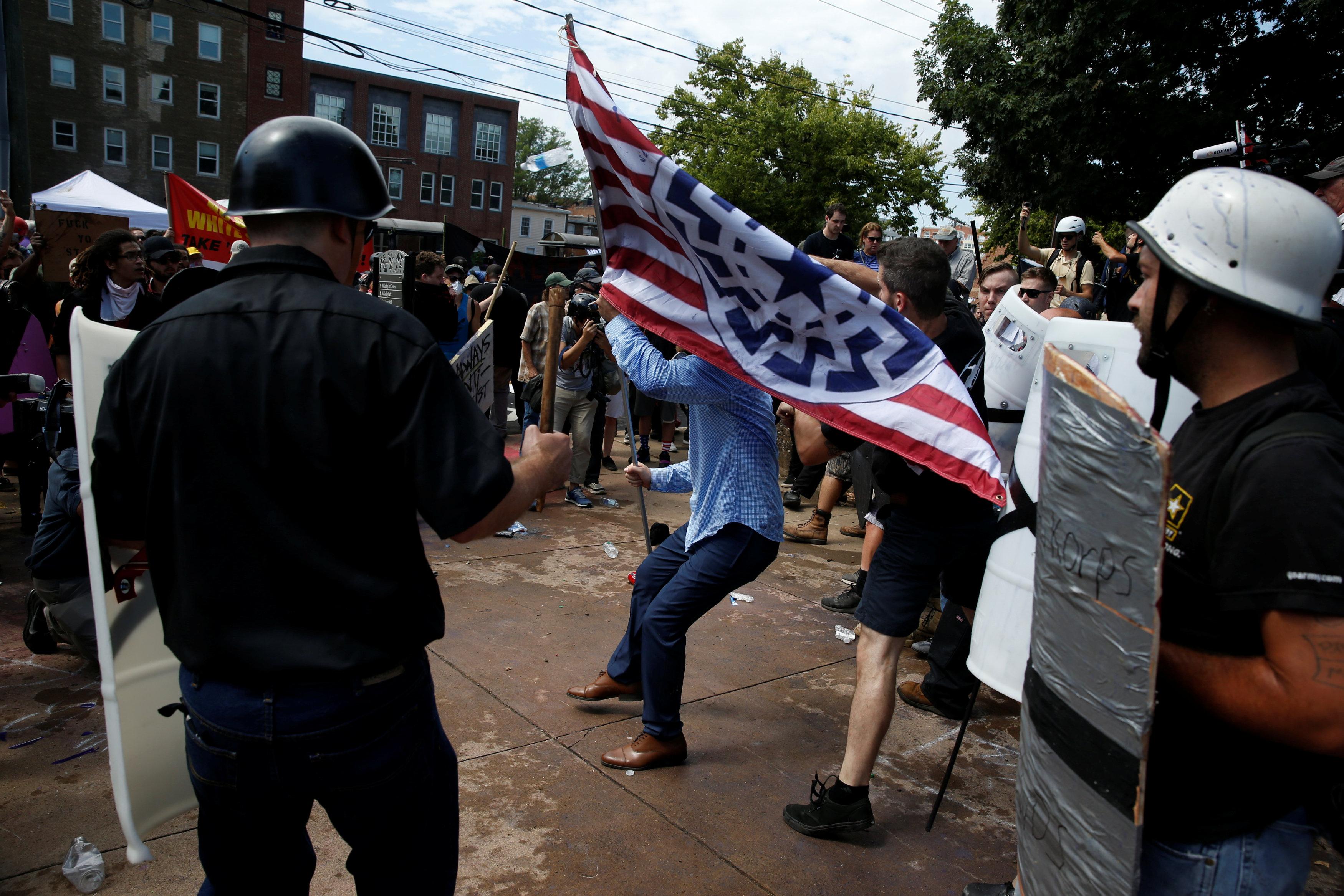 مظاهرات مناهضة للعنصرية