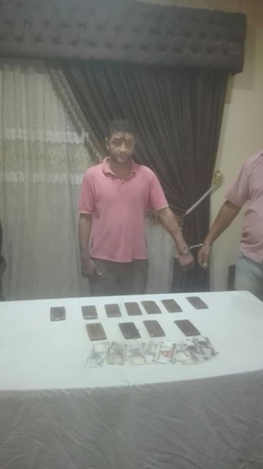 ضبط مروجى مخدرات فى حملة امنية مكبرة بدمياط (4)
