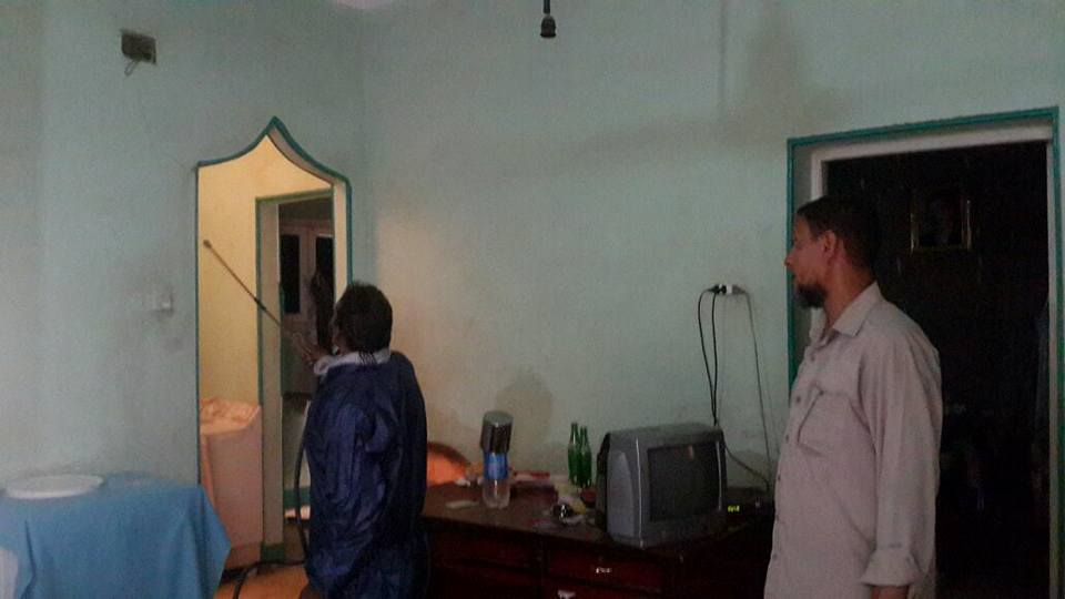 سحب عينات م من حالة ملاريا بنى سويف (3)