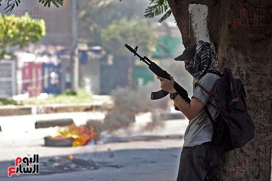 اسلحة الاخوان فى فض اعتصام رابعه (17)