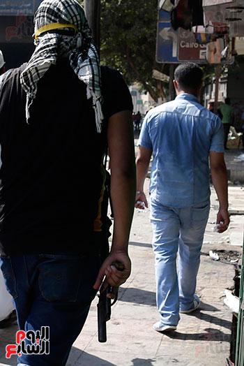 اسلحة الاخوان فى فض اعتصام رابعه (18)