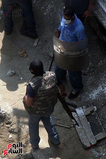 اسلحة الاخوان فى فض اعتصام رابعه (11)