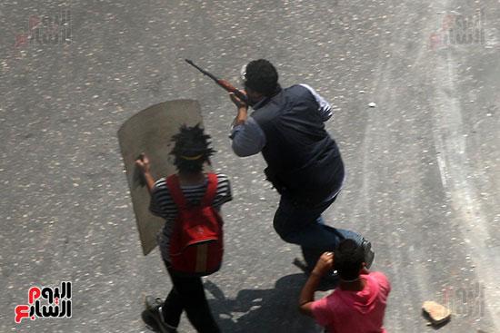 اسلحة الاخوان فى فض اعتصام رابعه (5)