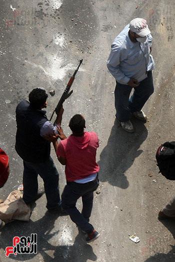 اسلحة الاخوان فى فض اعتصام رابعه (3)