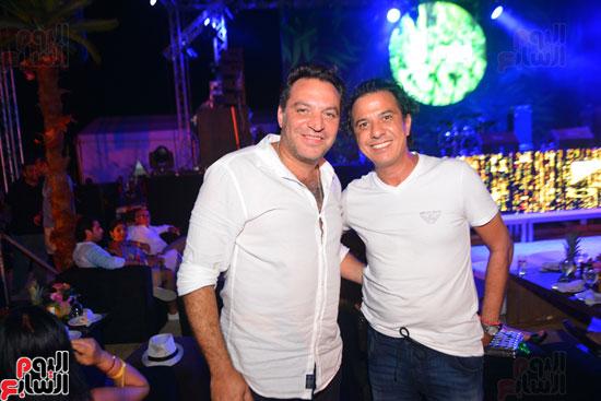 لويس فونسى ونيكول سابا يشعلان حفل الساحل الشمالى بحضور المشاهير   (41)