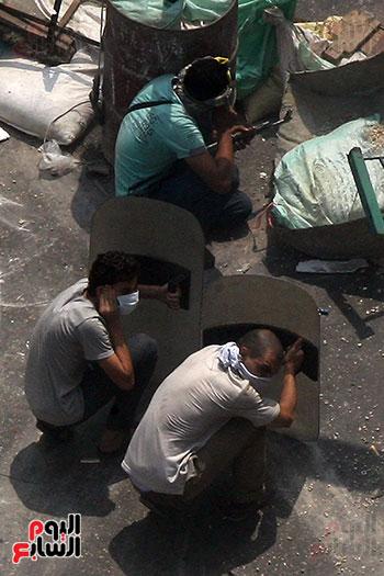 اسلحة الاخوان فى فض اعتصام رابعه (1)