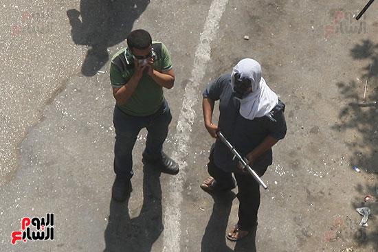 اسلحة الاخوان فى فض اعتصام رابعه (7)
