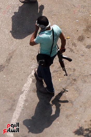 اسلحة الاخوان فى فض اعتصام رابعه (8)