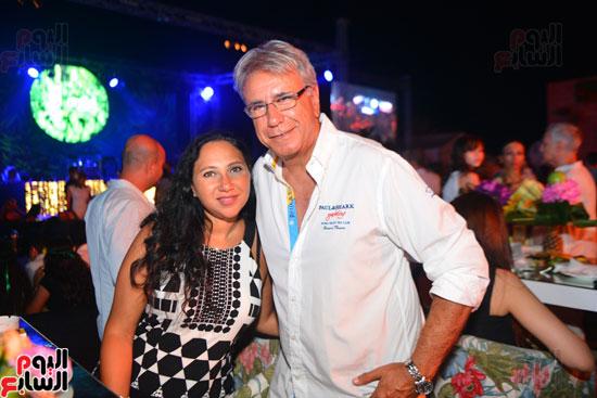 لويس فونسى ونيكول سابا يشعلان حفل الساحل الشمالى بحضور المشاهير   (40)