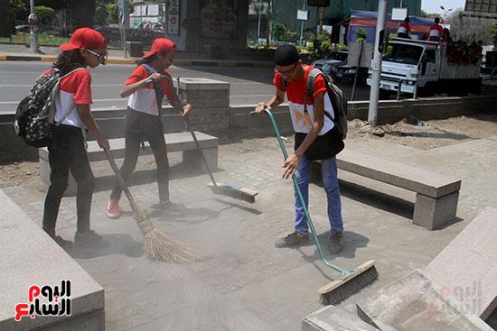 حملة تنظيف الشوارع (16)