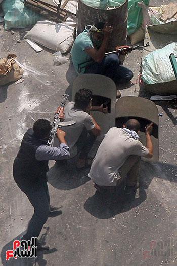 اسلحة الاخوان فى فض اعتصام رابعه (12)