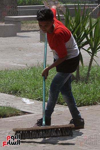 حملة تنظيف الشوارع (1)