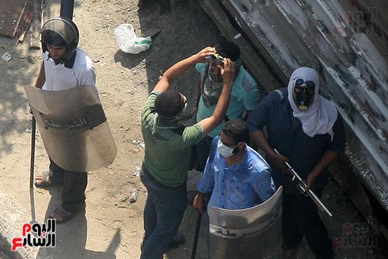 اسلحة الاخوان فى فض اعتصام رابعه (10)