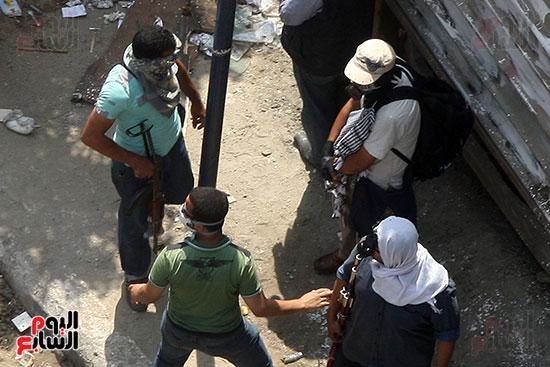 اسلحة الاخوان فى فض اعتصام رابعه (9)