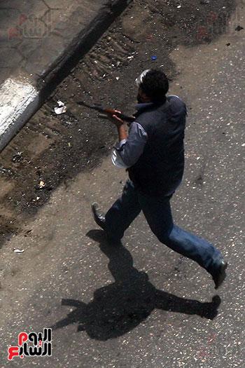 اسلحة الاخوان فى فض اعتصام رابعه (6)