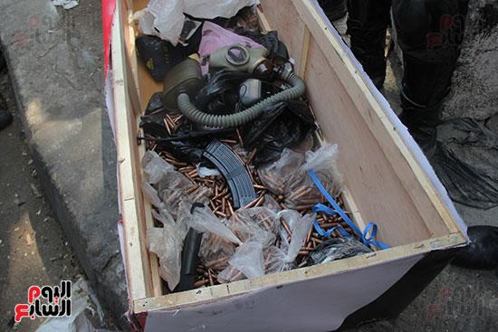 اسلحة الاخوان فى فض اعتصام رابعه (16)