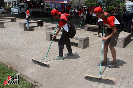 حملة تنظيف الشوارع (14)