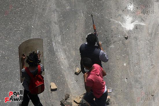 اسلحة الاخوان فى فض اعتصام رابعه (4)