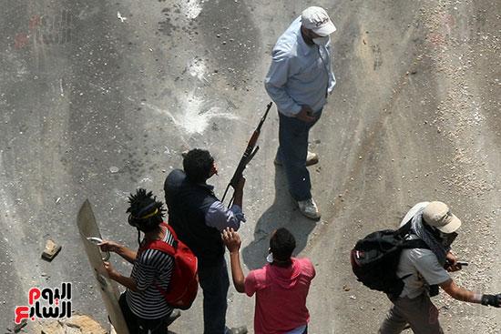 اسلحة الاخوان فى فض اعتصام رابعه (2)