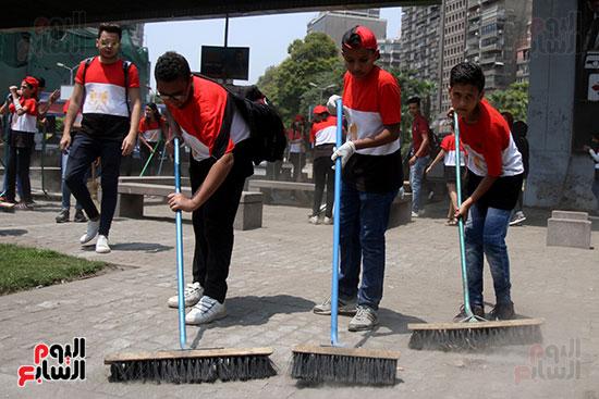 حملة تنظيف الشوارع (2)