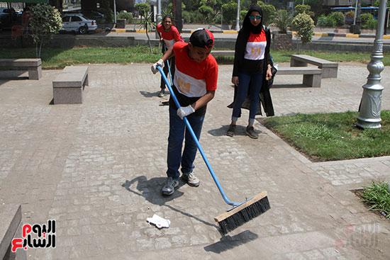 حملة تنظيف الشوارع (18)