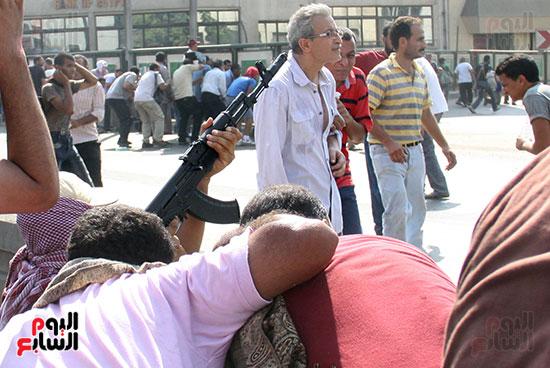 اسلحة الاخوان فى فض اعتصام رابعه (14)