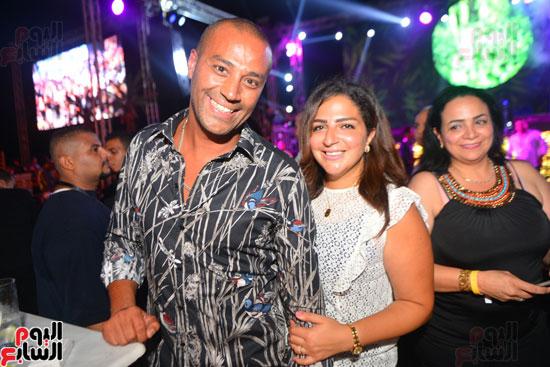 لويس فونسى ونيكول سابا يشعلان حفل الساحل الشمالى بحضور المشاهير   (46)