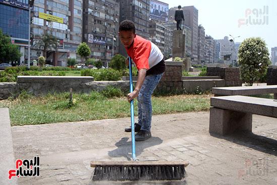 حملة تنظيف الشوارع (12)
