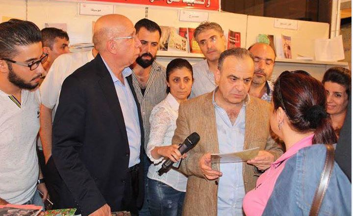 رئيس وزراء سوريا يتفقد معرض الكتاب بدمشق (4)
