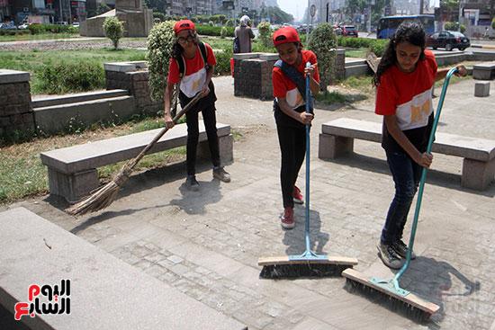 حملة تنظيف الشوارع (11)