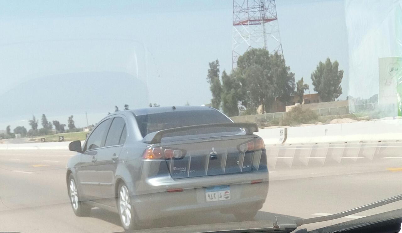 السيارة المطموسة