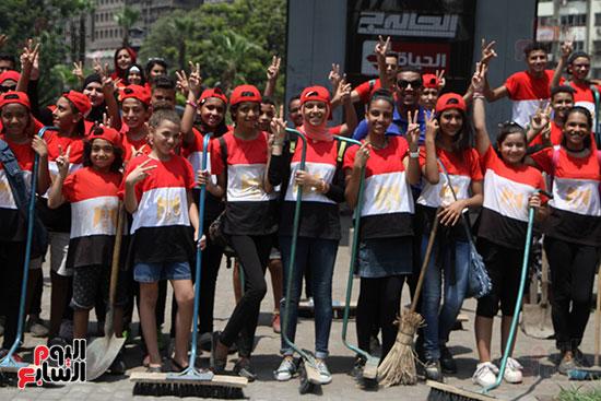 حملة تنظيف الشوارع (4)