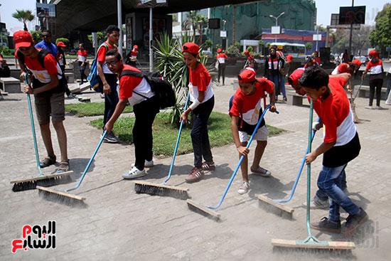 حملة تنظيف الشوارع (3)