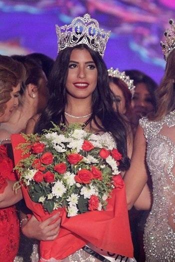 نادين أسامة ملكة جمال مصر للعالم
