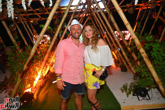 لويس فونسى ونيكول سابا يشعلان حفل الساحل الشمالى بحضور المشاهير   (34)