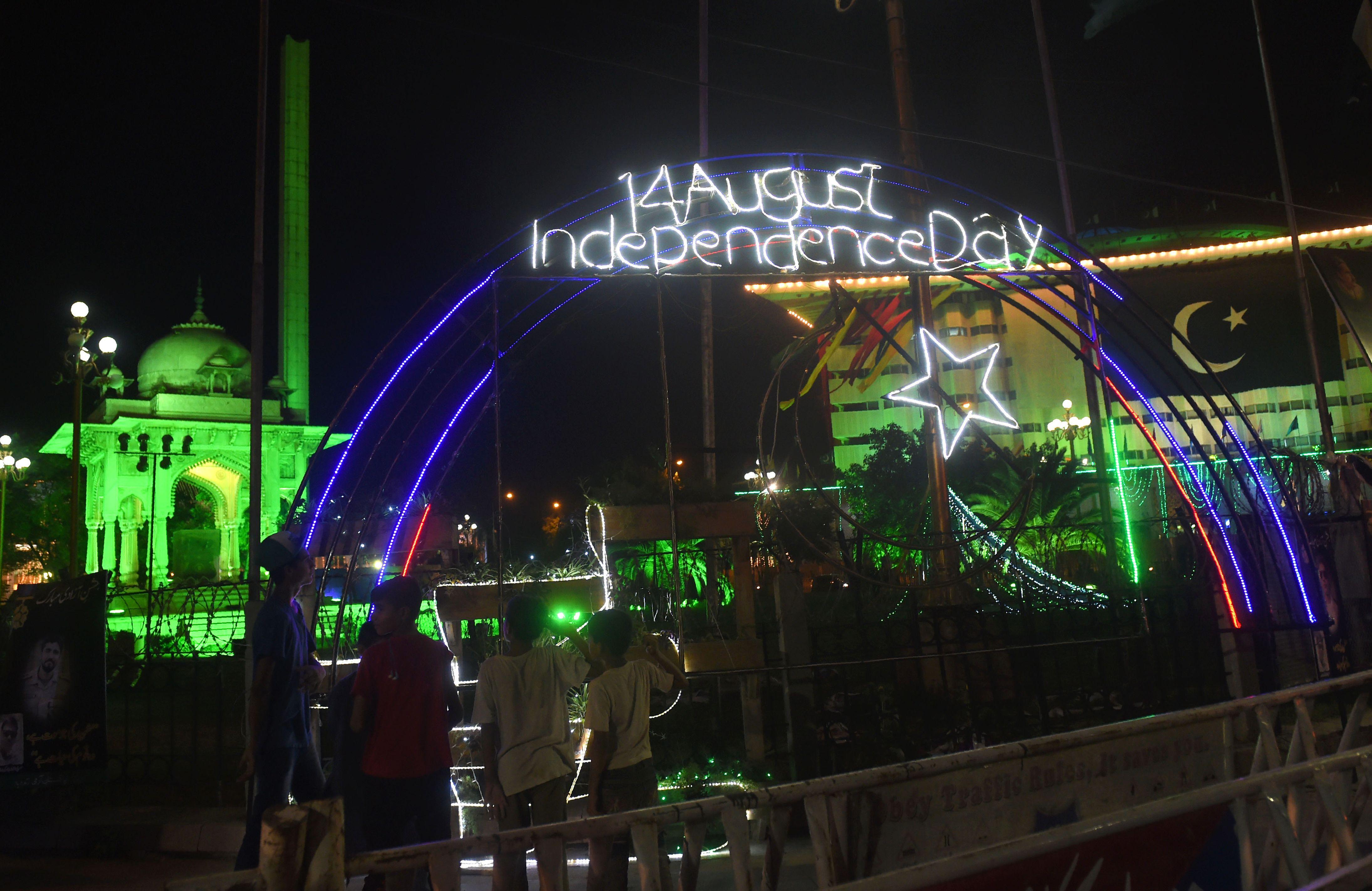 احتفال باكستان بيوم الاستقلال