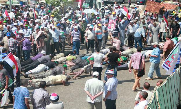 اعتصام رابعة المسلح (4)