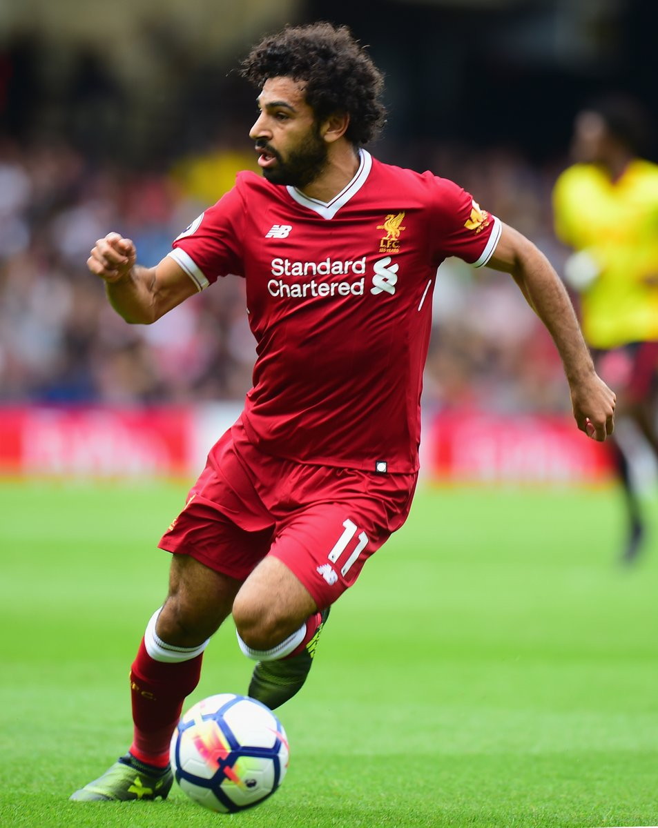 محمد صلاح فى مباراة ليفربول وواتفورد
