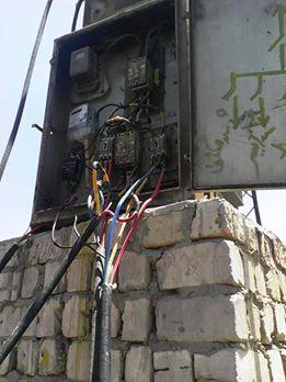 محول كهرباء قرية اليوسيفية